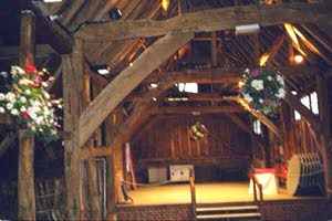 [Mayflower Barn at Jordans-inside view]