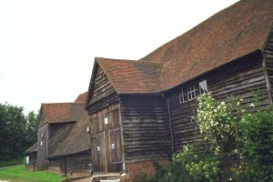 [Mayflower Barn at Jordans-outside view]