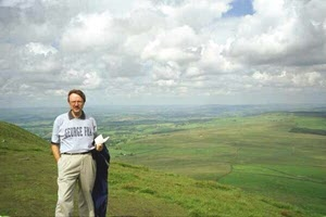 [Stan Banker on Pendle Hill]