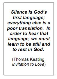 Thomas Keating quote on silence